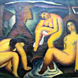 Female bathers from Morava
